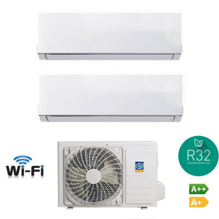 CLIMATIZZATORI DUAL SPLIT GAS R 32 DC INVERTER A++A+ NEW 2019